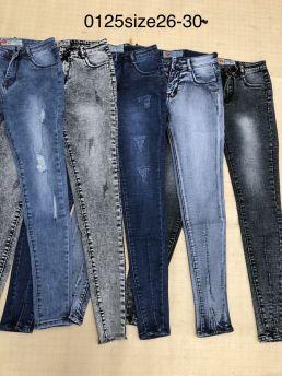Quần jean dài nữ 0125