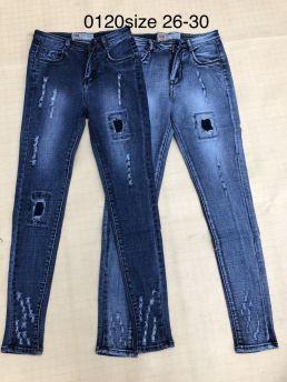 Quần jean nữ dài 0120