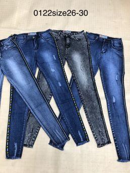 Quần jean nữ dài 0122
