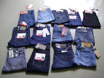 Xưởng may quần jean nam giá sỉ, rẻ nhất TPHCM