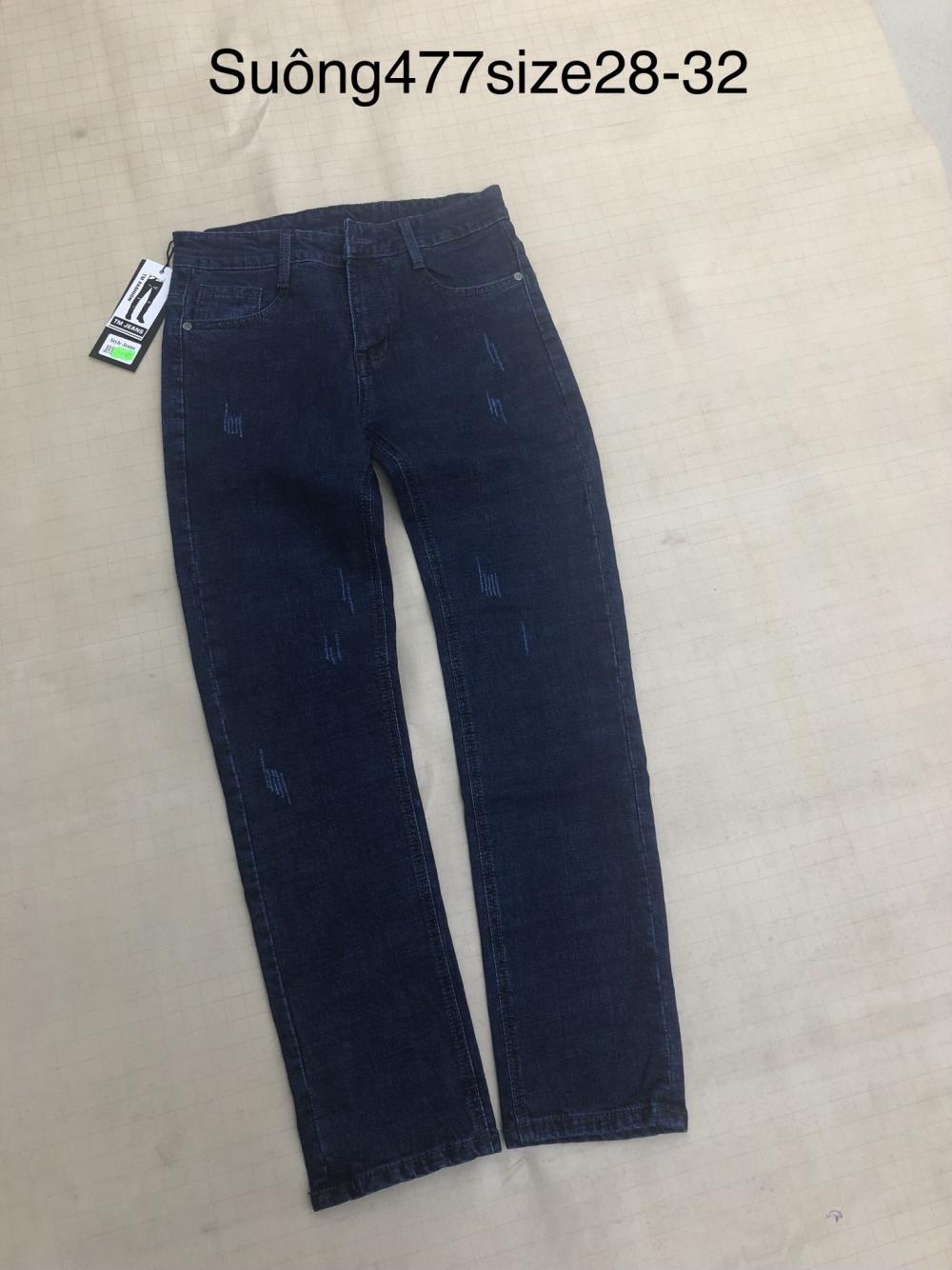 Quần jean nam dài 477