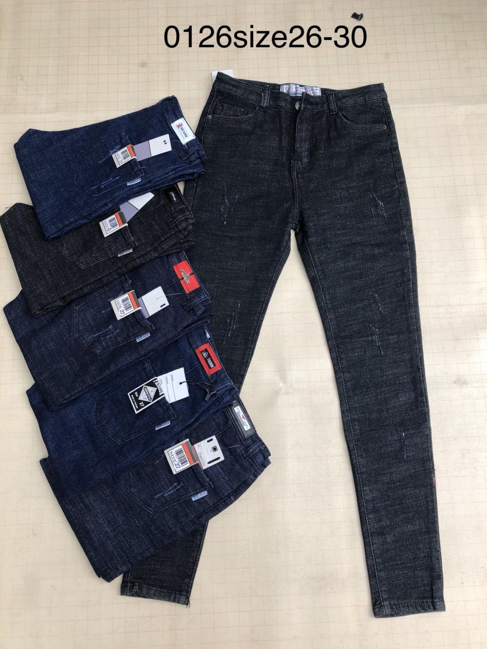 Quần jean nữ dài 0126