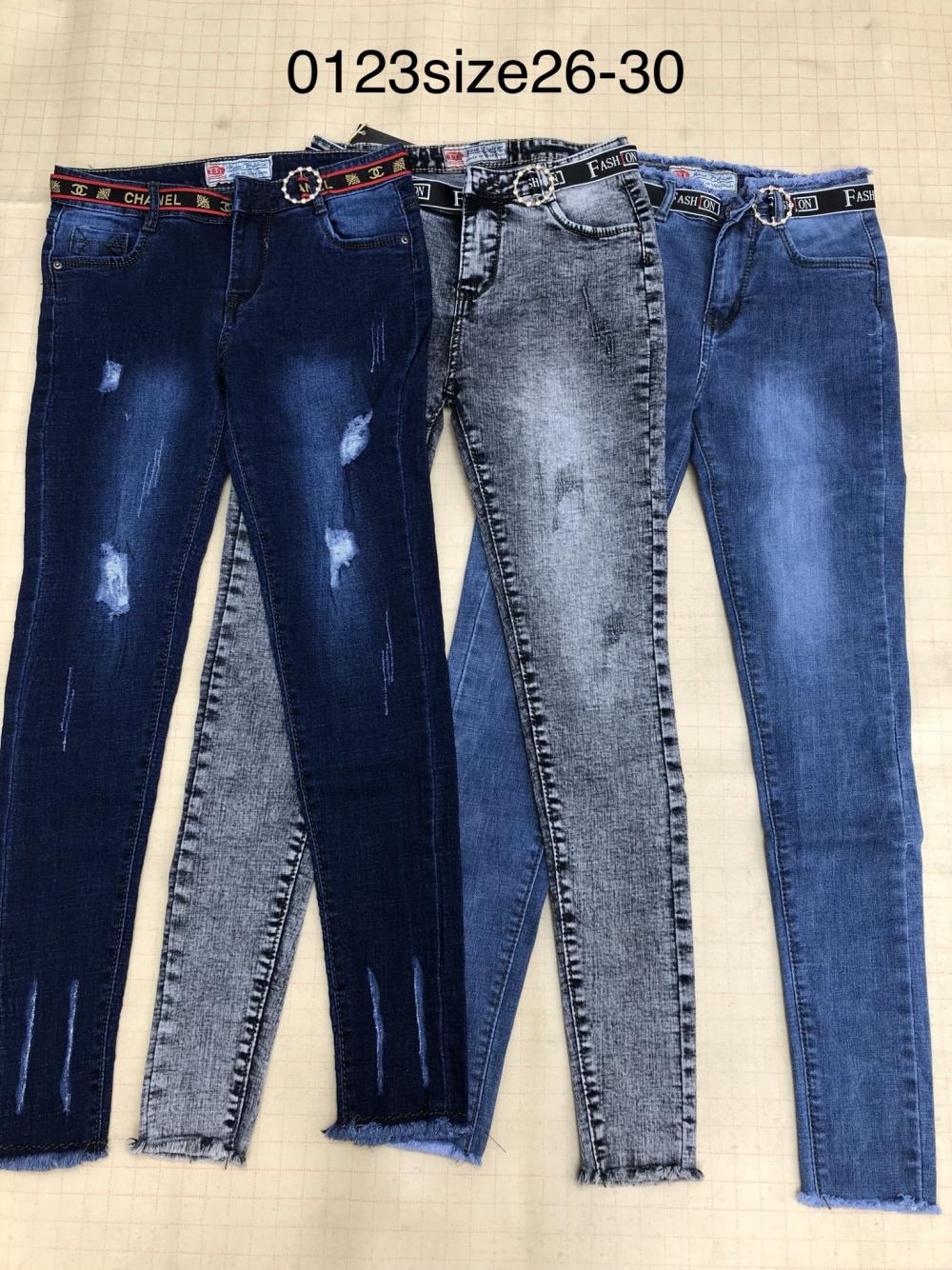 Quần jean nữ dài 0123