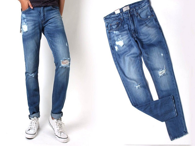 Bí quyết giúp bạn chọn một chiếc quần Jean nam vừa dáng