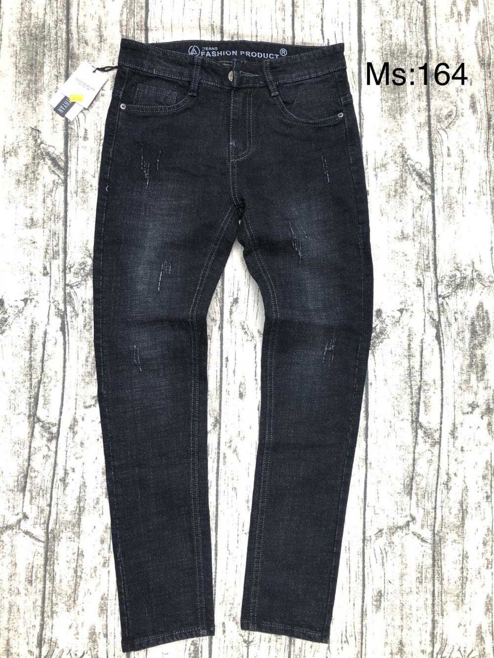 Quần jean nam dài MS164